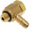 10-32 Thread Hex Head Barb Fitting -- MLASH Series -- View Larger Image