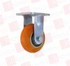 CASTER CONNECTION CCAPEX-5R ( CASTER WHEEL, 5IN, DOUBLE SEALED BALL BEARING, 4 BOLT MOUNT ) -Image