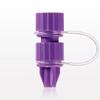 Male ENFit® Connector, Cap on Strap -- 40092 -- View Larger Image