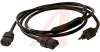 Cord, Detachable; 13 A; Plug; SJT; 10 ft.; 0.340 in. (Nom.); 3250 W; 125 V; 3 -- 70116070 - Image