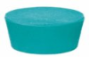 Cole-Parmer Solid Green Neoprene Stoppers, Standard Size 9.5; 9/Pk -- GO-62991-32