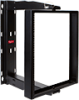 Swing Cent Rack 20u 24in Blk -- E19SWMC20U24