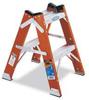 WERNER 2 ft. fiberglass twin stepstool. Type IA, 300 lbs. -- Model# T6202