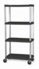 Mobile shelving unit , 5 shelf, 60