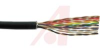 cable,round twist and flat,loose pair,jacketed/shielded,color coded,17 pair -- 70111249
