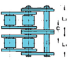 Nickel-Plated Double Strand Drive Lambda® Chains