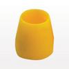Ferrule ETFE, Yellow, 25/bag -- 2419400 -Image