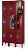 HALLOWELL Premium Steel Lockers - 3-Tier Lockers -- 5775993