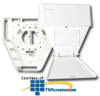 Siemon CT Multi-User Telecommunications Outlet Assembly -- CT-MMO-02