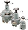 Pressure Regulator, 1-50 PSIG Air-loading, High Flow -- 42HA50