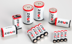Alkaline Batteries, various sizes, via ZEUS Battery Products