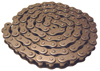 Single Strand ANSI Roller Chain -- 50RIV - Image