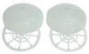 Filter Cover,White,Full/Half Mask,PR -- 16M242
