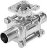 Ball valve -- VZBD-3/4-W3-16-T-2-F0304-V14V14 -Image