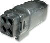 Molex 19419-0004 MX150L 4-Pin Connector Plug, 16-14 AWG -- 38352 -- View Larger Image