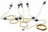 Explosion Proof LED String Lights - 5, Class I & 2, Div. I LED Handlamps - 120V - *RENTAL* -- RNT-EPL-SL-5-LED