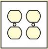 Standard Wall Plate -- N0102 - Image