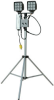 180 Watt Dual LED Light on Telescoping Tripod - 110VAC Plug or 12-24VDC - Extends to 9 feet -- WALTP-2x90Y