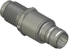 Honeywell Harsh Application Aerospace Proximity Sensor, HAPS Series, Inline cylindrical threaded form factor, 2,50 mm/3,50 range, 3-wire current sinking output near/fault/far, EN2997Y10803MN terminati -- 1PCTD3ACN1-000 -Image