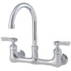 8 IN Wall Mount Faucet with 6 IN Gooseneck Spout -- 0239891 - Image