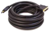 HDMI-DVI Cables,Black,25 ft.,26AWG -- 5RFH9