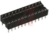 Socket, DIP;24Pins;Dual Leaf;Economy Ladder;0.3In.;Phosphor Bronze;Tin/Lead -- 70042911 - Image