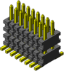 Micro Pitch Board-to-Board Systems Connectors -- AW Series - Image