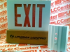 LITHONIA LIGHTING LE-S-W-1-R-120/277-VR ( EMERGENCY EXIT SIGN W/RED LETTERS 120-277V 1.2W ) -Image