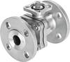 Ball valve -- VZBF-3-P1-20-D-2-F0710-V15V15 -Image