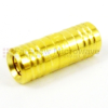 SMB Plug (Male) to SMB Plug (Male) Adapter, Gold Plated Brass Body, High Temp, 1.3 VSWR -- SM2007 - Image