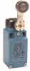 Global Limit Switches Series GLS: Side Rotary With Roller - With Offset, 2NC Slow Action, 0.5 in - 14NPT conduit, Gold Contacts -- GLCA36A5A