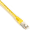15FT Yellow CAT6 400MHz Patch Cable F/UTP CM Solid RJ-45 -- EVNSL0604MS-0015 - Image