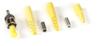 Fiber Optic Connector, Ceramic Ferrule, ST Single-Mode Simplex, 126-µm/0.9-mm/2.0-mm/3.0-mm -- FOT200-R2