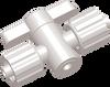 1 Way Small Luer Stopcock -- AP12SML2MXMK - Image