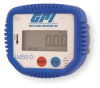 Lube Meter Display,Oval Gear,1/2 In FNPT -- 1YEG1