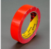 3M Scotch 690 Red Color Coding Bag/Packaging Tape - 9 mm Width x 66 m Length - 2.3 mil Thick - 61647 -- 021200-61647