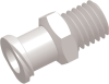 Female Thread to Luer Straight Connector -- AP16FTFLT1032CL - Image