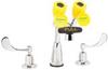 Gooseneck Faucet with Eyewash,2.2 GPM -- 6MPF9