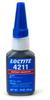 Henkel Loctite Prism 4211 Thermal Resistant Instant Adhesive Black 20 g Bottle -- 135302 - Image