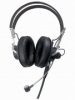 Cardioid Dynamic Headworn Microphone with Dual Enclosed Ear Receivers -- SM2