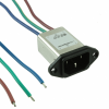 Power Entry Connectors - Inlets, Outlets, Modules -- 817-1444-ND -Image