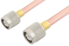 TNC Male to TNC Male Cable 6 Inch Length Using RG401 Coax -- PE34271-6 -Image
