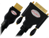 Atlona AT14020-1 3ft DVI-D to HDMI Cable - Black -- AT14020-1 - Image