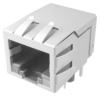 TE CONNECTIVITY - 1888250-1 - CAT5E RJ45 MODULAR JACK, 8POS, 1 PORT -- 109498 - Image