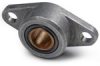 Flange-Mounted Bearings - Metric -- BABBLKMHF318MB -Image