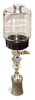 "(Formerly B1745-5X10), Manual Chain Lubricator, 1 pt Polycarbonate Reservoir, 1 1/2"" Round Brush Stainless Steel -- B1745-016B1SR4W -- View Larger Image"