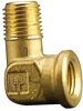 Fisnar 560747 Brass Elbow Connector 0.25 in NPT Male x 0.25 in NPT Female -- 560747 -Image