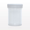 Specimen Container with White Cap -- 99981 -Image