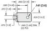 Transistor Insulators -- 4672 -Image