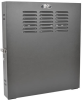 SmartRack 2U Low-Profile Vertical-Mount Switch-Depth Wall-Mount Rack Enclosure Cabinet -- SRWF2U -- View Larger Image